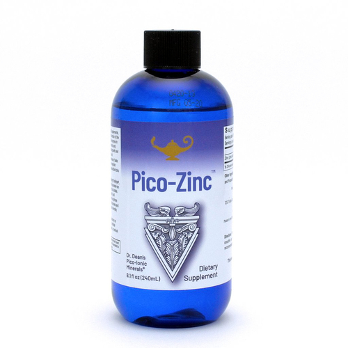 Pico-Zinc - Zink-Lösung | Dr. Dean´s piko-ionisches flüssiges Zink - 240ml