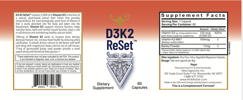 D3K2 ReSet - Vitamin D - Kapseln