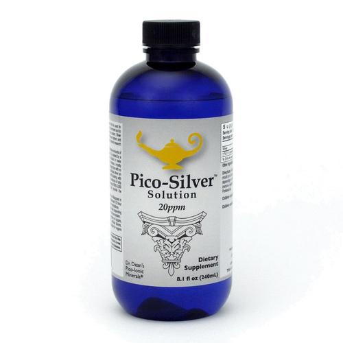 Pico-Silver Solution | Dr. Dean´s piko-ionische Silber-Lösung - 240ml